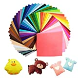 UOUNE Bunter Filzstoff 60 Farben Bunte Filzplatten 20 x