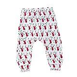 Allence Unisex Baby Hose mit Fuß Baby Strampelhose Hosen mit Fuß Halloween Weihnachten