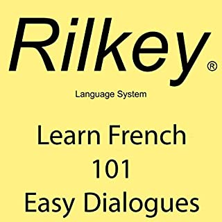 Learn French 101 Easy Dialogues cover art