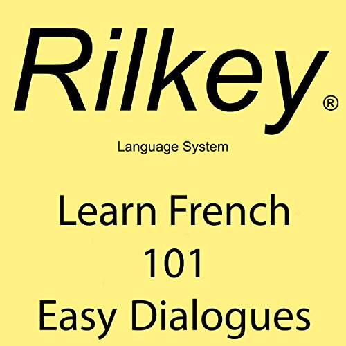 Learn French 101 Easy Dialogues audiobook cover art