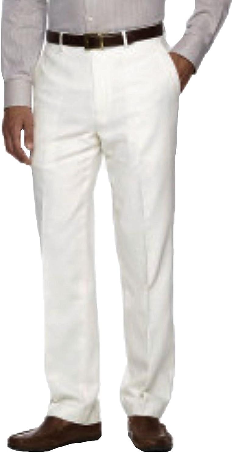 Chaps Men's Linen Classic-Fit Pants