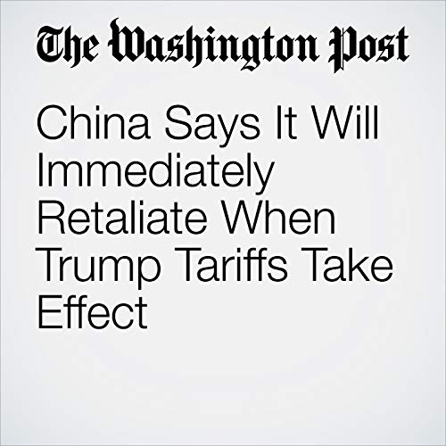 China Says It Will Immediately Retaliate When Trump Tariffs Take Effect copertina