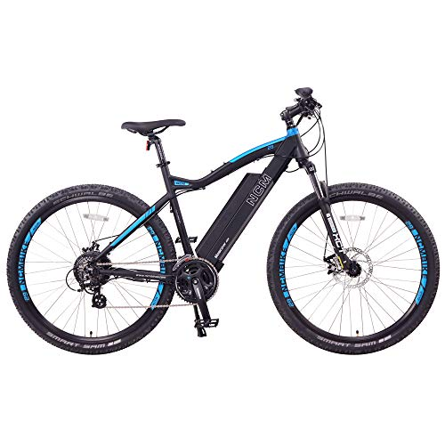 NCM Moscow Electric Mountain Bike 624Wh 48V/13AH Matte Black 29'