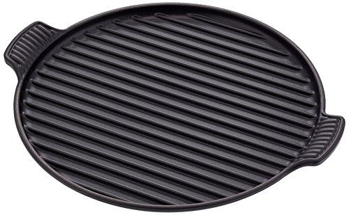LE CREUSET Grillplatte, Gusseisen, schwarz, 33.1 x 29.9 x 7.6 cm