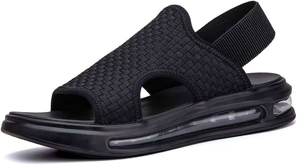 wholesale Woven Men's Casual Sports Summer No Sandals Shoes Non-Slip El Paso Mall Beach