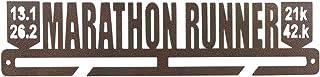 Medal Holder Display Hanger Rack Medals Brown Medal Holder Wall Mount Marathon-Run Medal Frame Holds Upto 24-30 Medals by ...