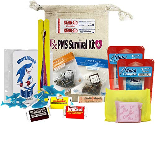 PMS Survival Kit - Shark Week Relief - Comfort Care Package