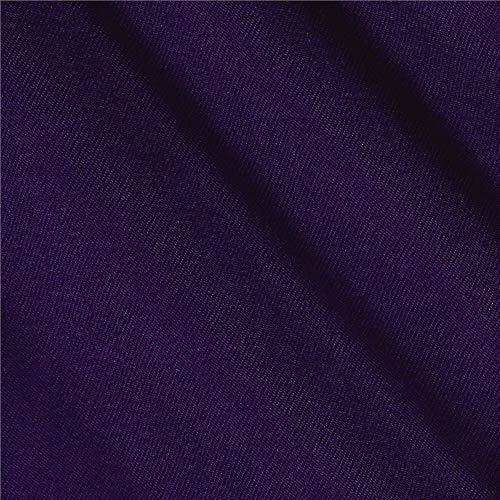 Textile Creations Poly/Cotton Twill Fabric, Purple, Fabric by the yard