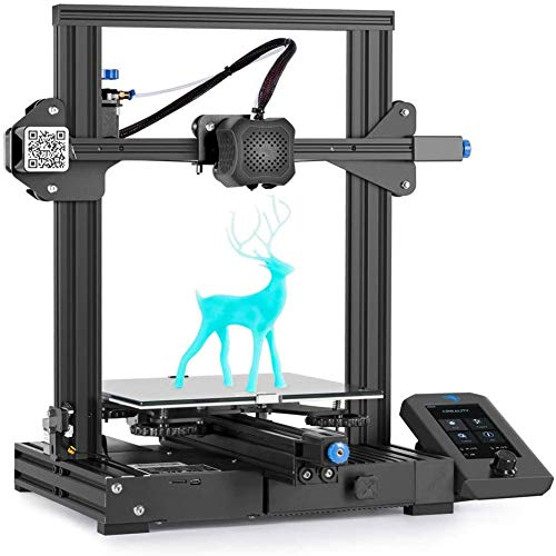 L-SLWI 3D Printer Creality Three-Dimensional Diyfdm Ender-3 V2 High-Precision Desktop 3D Printer 220X220x250mm