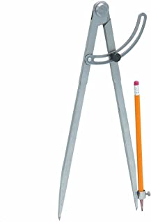 J&R Quality Tools 23877 Pencil Length Divider with Wing, 12-Inch - Life Time Warranty (Оne Расk)