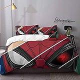 Juego de funda de edredón de 3 piezas, diseño de Spiderman Lejos de casa...