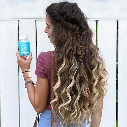 SugarBearHair Vitamins, Vegan Gummy Hair Vitamins with Biotin, Vitamin D, Vitamin B-12, Folic Acid, Vitamin A (1 Month Supply)
