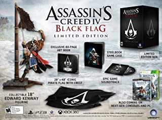 Assassin's Creed IV Black Flag Limited Edition - PlayStation 4 (B00DYDOQPU) | Amazon price tracker / tracking, Amazon price history charts, Amazon price watches, Amazon price drop alerts