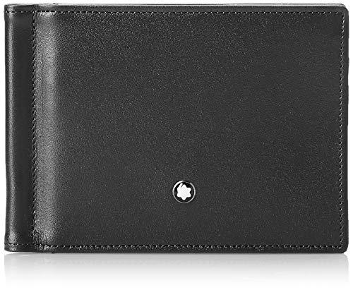 Montblanc MEISTERSTÜCK BRIEFTASCHE No. 05525 5525 Unisex - Erwachsene Portemonnaies, na schwarz (na)