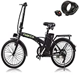 NAKTO 20' 250W Foldaway/City Electric Bike Assisted Electric Bicycle Sport Mountain Bicycle with 36V10A Removable Lithium Battery ebike