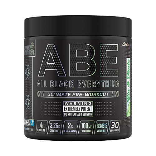 Applied Nutrition ABE - All Black Everything Pre Workout 315g - 30 Servings (Gin & Tonic)