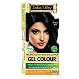 Best Organic Hair Dyes - Indus Valley Organically Natural Permanent Gel Black 1.0 Review