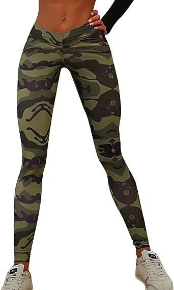 ShiFan Camisetas Deportivas Mallas Running Yoga Pantalon Camuflaje Trajes Gimnasio Conjuntos para Mujer