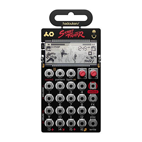 "Teenage Engineering PO-133 Pocket Operator ""Street Fighter"" Limited Edition Synth und Sampler"