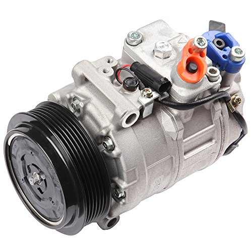 cciyu Air Conditioning Compressor Compatible for Mercedes-Benz C240 2001-2003 CO 11245C Auto Repair Compressors Assembly