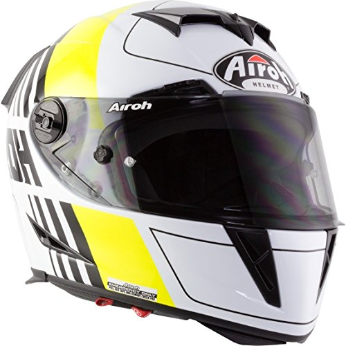 Airoh Casco moto 2018 GP500 Sectors Anaranjado Matte