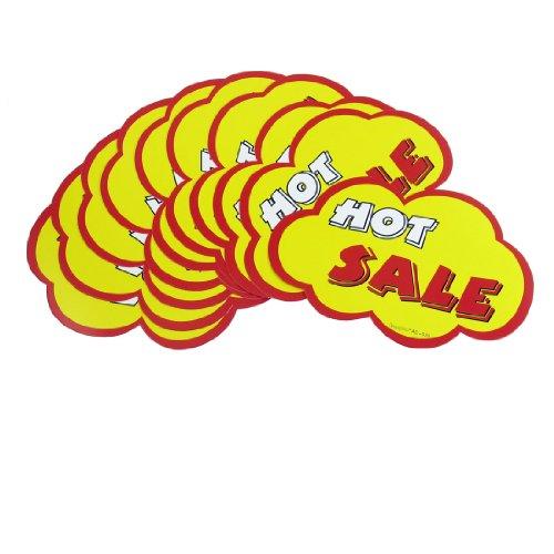 10 Stks Winkels Hot Koop Gedrukt Cloud Vorm Brim Reclame Pop Prijs Tags