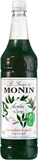 Monin Green Mint Syrup 1 Litre