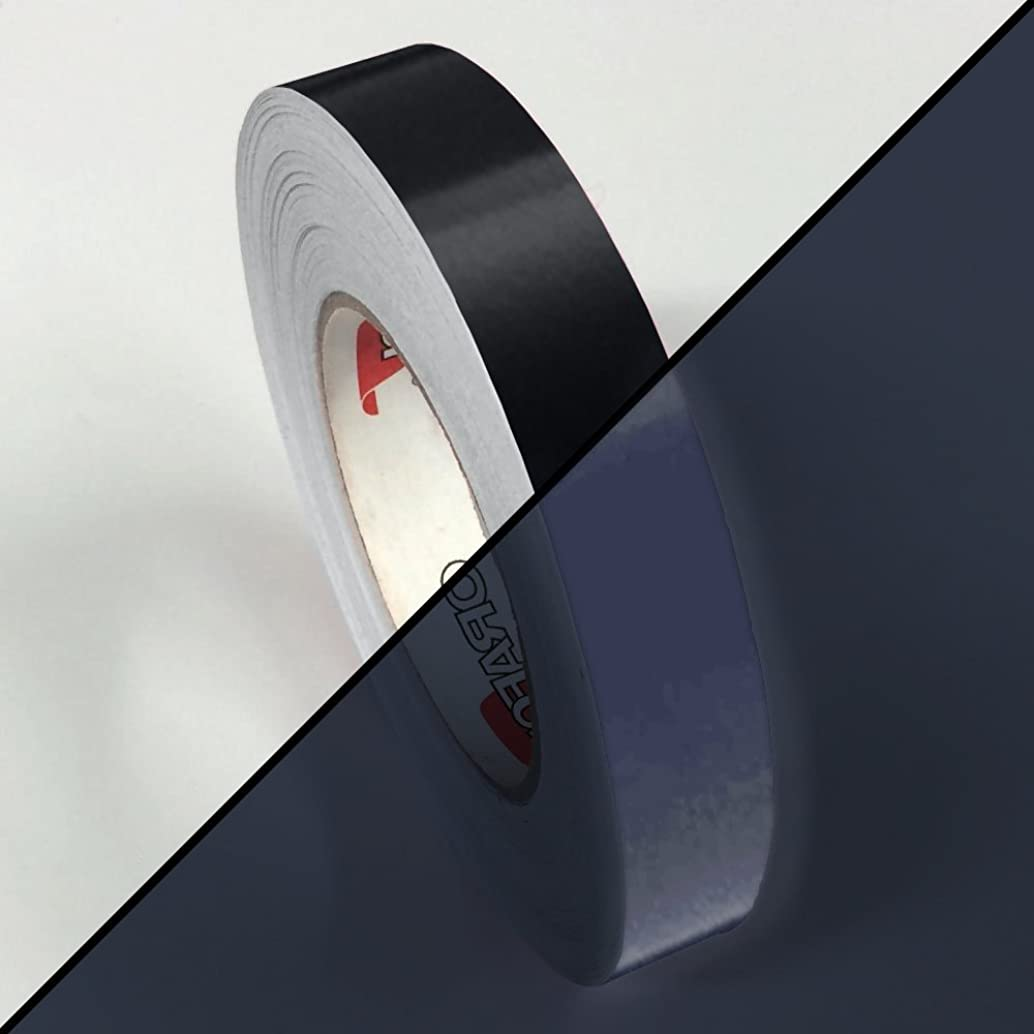 ORACAL 5400 Reflective Black Adhesive Vinyl Craft Tape Roll (1/2