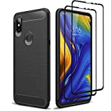 Teayoha Case for XiaoMi Mi Mix 3, with Tempered Glass