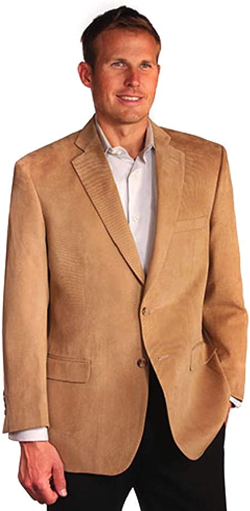 Big and Tall Soft Touch Microfiber Blazer