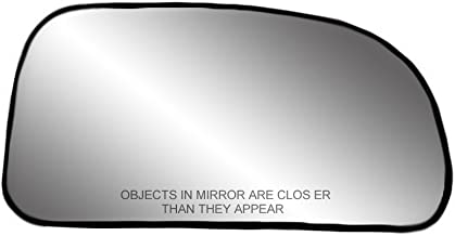 Fit System 80188 Passenger Side Non-heated Replacement Mirror Glass with Backing Plate