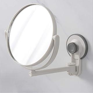 CCChaRLes 360 ° Ventouse Sans Rasage Rasage Gratuit Maquillage De Salle De Bain Miroirs Double Face