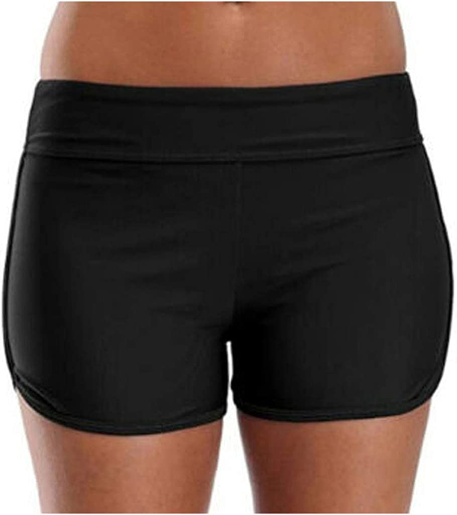 XXBR Swim Shorts for Womens Plus Size, Summer Quick Dry Water Beach Board Shorts, Tankini Bathing Swimsuit Bottoms