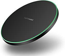 Wireless Charger,7.5W Anti-Slip Wireless Charger Pad for iPhone X/8/8 Plus,10W Fast Wireless Charging for Samsung Galaxy S9/S9 Plus/Note 8/S8/S8 Plus