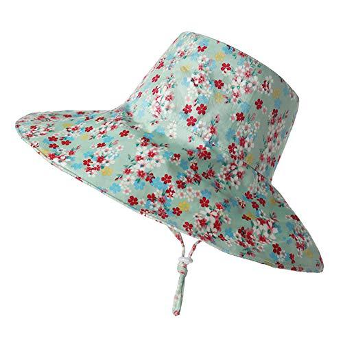 buenos comparativa Sombrero de sol para niños Urhaus, sombrero de sol ajustable con ala ancha y protección UV … y opiniones de 2021