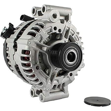 New Alternator for 3.6L V6 BUICK ALLURE 06 07 08 0-124-425-063 217 AL8809N 1Clock 125Amp Internal Fan Type Clutch Pulley Type Internal Regulator CW Rotation 12V