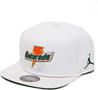Air Jordan Pro Like Mike Baseball Cap Adult Adjustable White/Orange/Green