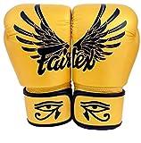 Fairtex Muay Thai Guantes de boxeo BGV1 Falcon Gold 14 oz