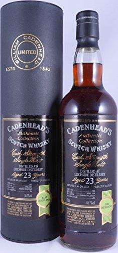 Lochside 1981 23 Years Sherry Hogshead Cadenheads Authentic Collection Single Cask Highland Single Malt Scotch Whisky Cask Strength 55,1% Vol. - eine von 204 Flaschen!