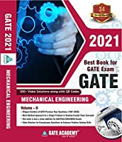 GATE Books: GATE Academy 2021 Mechanical Engineering Previous Year Solved Papers Vol 2