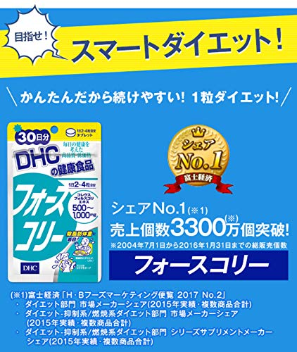 DHC DHC DHC フォースコリー 30日分 袋120粒