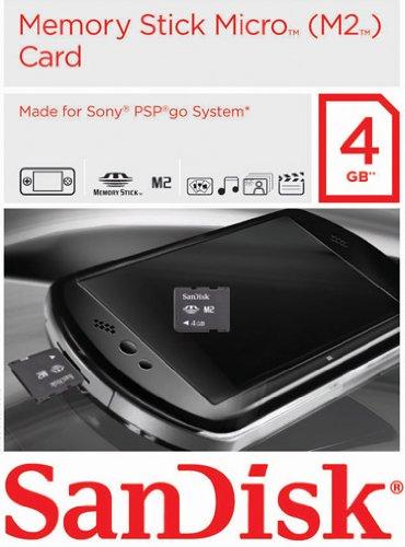 MemoryStick Micro 4GB Gaming Card für PSP Go!