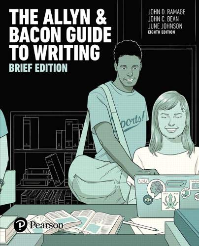The Allyn & Bacon Guide to Writing, Brief Edition (8th Edition)