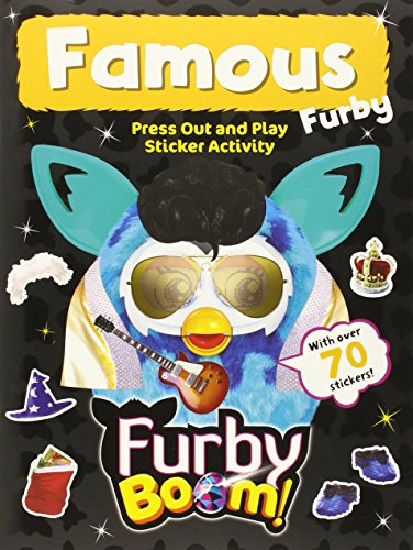 Furby Boom Famous Furby Press Out and Play