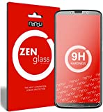 ZenGlass Flexible Glas-Folie kompatibel mit Motorola Moto Z3 Play Panzerfolie I Bildschirm-Schutzfolie 9H I (Kleiner Als Das Gewölbte Bildschirm)