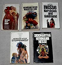 Hermann Hesse set: Demian; Magister Ludi (The Glass Bead Game); Narcissus and Goldmund; Siddhartha; Steppenwolf