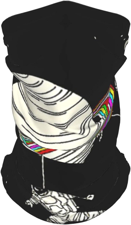 Largefhj Neck Gaiter Multipurpose Headwear Ice Silk Mask Scarf Summer Cool Breathable Outdoor Sport 2 PCS