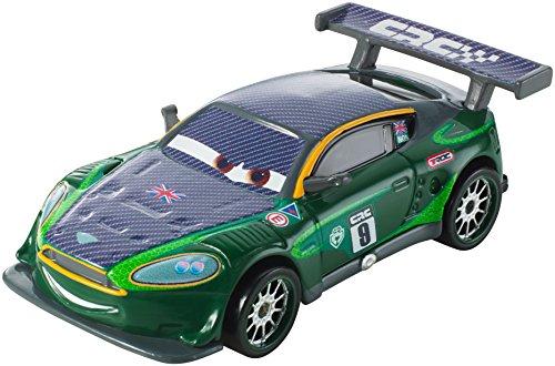 Disney Pixar Cars – Carbon Racers – Nigel Gearsley – Mini Véhicule 5 cm