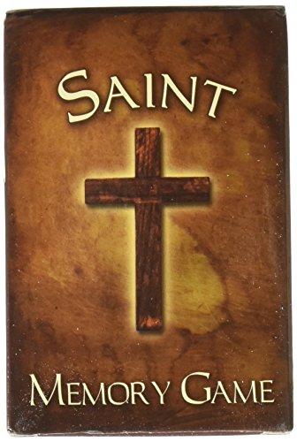 Adult Kid Sunday School Church Catholic Saint Pair Matching Fun Memory Card Game