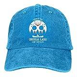 Photo de Kay Sam Camp Crystal Lake Denim Hat Casquettes de Baseball de Surf Ajustables pour Femmes par